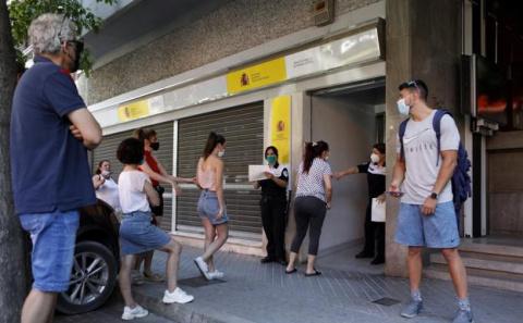 La Seguridad Social pierde 219.000 afiliados y suben los trabajadores en ERTE